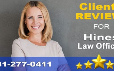 5-Star Attorney Review for Hines Law Offices near Westborough, MA