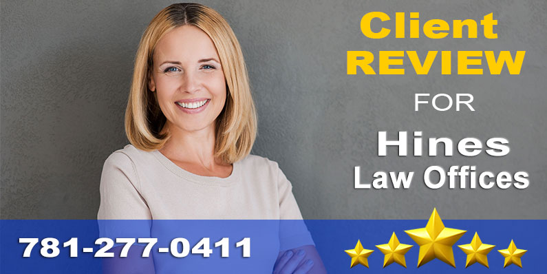Client Testimonial for Hines Law Offices